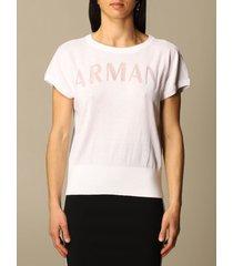 armani collezioni armani exchange sweater armani exchange sweater with logo