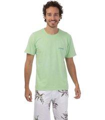 camiseta masculina estonada verde - verde - masculino - dafiti