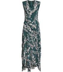 bcbgmaxazria floral-print midi dress