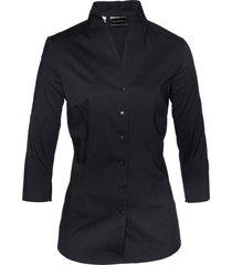 camicetta con colletto a scialle (nero) - bpc selection