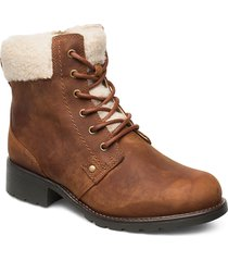 orinoco dusk shoes boots ankle boots ankle boots flat heel brun clarks