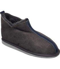 johannes slippers tofflor grå shepherd
