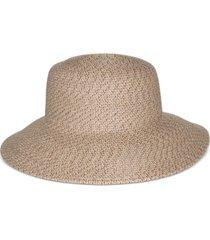 nine west packable classic braid down brim floppy hat