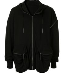 a-cold-wall* back pocket hoodie - black