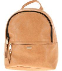 mochila essential marrón humana