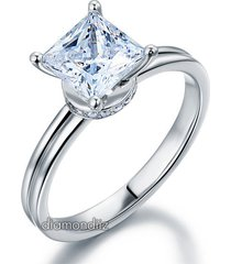 affordable 1.5 ct lab created diamond wedding promise ring 925 sterling silver