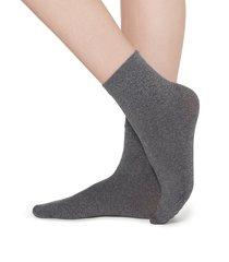 calzedonia - 50 denier soft touch socks, one size, grey, women