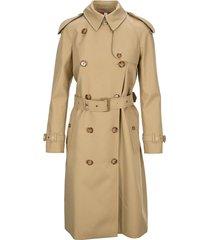 burberry london new monogram lining trench coat