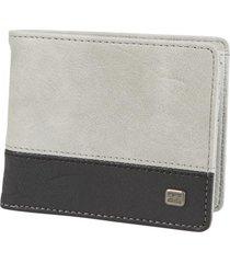 billetera dimensión gris billabong