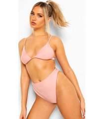 mix & match kleine bikini top, dusty pink