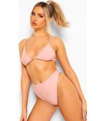 mix & match itsy bitsy bikinitopje, dusty pink