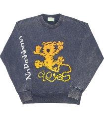 aries tiger sweatshirt