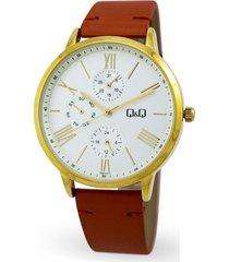 reloj q&q dama  ref aa37j117y  calendario multifuncional original