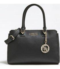 torba na ramię z charmsem z logo model alma