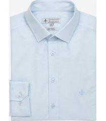 camisa dudalina tricoline liso masculina (azul medio 2, 48)