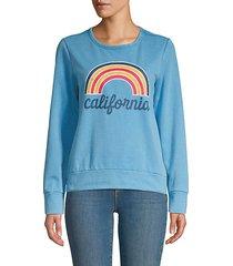 graphic roundneck sweatshirt