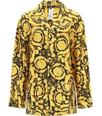 versace pajama shirt