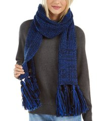 calvin klein chunky knit marled scarf