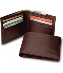 american bison thinfold leather wallet