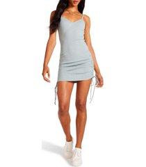 women's bb dakota by steve madden body-con minidress, size small - blue