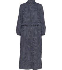 debora dress maxiklänning festklänning blå storm & marie
