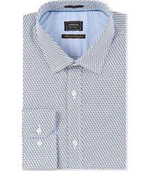 camisa formal azul puntos arrow