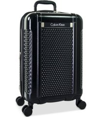"""closeout! calvin klein driver 20"""" expandable hardside spinner suitcase, created for macy's"""