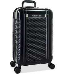 "calvin klein driver 20"" expandable hardside spinner suitcase, created for macy's"