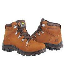 bota adventure bell boots couro escalada trilhas dia a dia bege