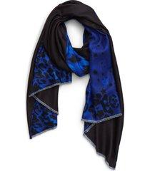 women's ted baker london leopard & star print scarf