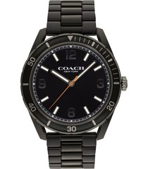 men's coach preston bracelet watch, 44mm