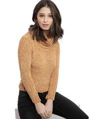 sweater nrg mostaza - calce ajustado