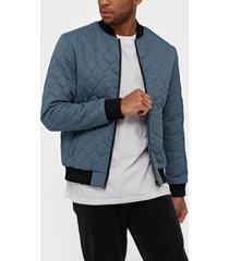 jack & jones jcojackpot puffer jacket jackor mörk blå