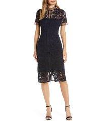 women's eliza j lace sheath dress