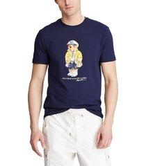 camiseta azul navy polo ralph lauren