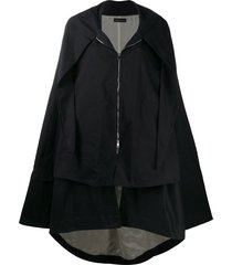 barbara bologna barbara bologna oversized cape - black