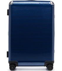 fpm milano spinner light 68 holdall suitcase - blue