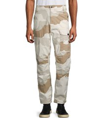 g-star raw men's torrick relaxed-fit pants - white beige - size 30 32