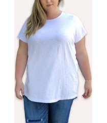 ori women's plus size original cloudsoft tunic tee