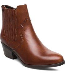 woms boots shoes boots ankle boots ankle boots with heel brun tamaris