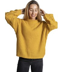 chaleco sweater mostaza froens