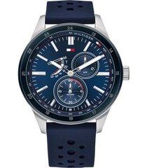 reloj azul tommy hilfiger 1791635 - superbrands