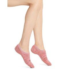 women's bombas sparkle space dye no-show socks, size medium - pink
