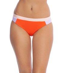 women's the bikini lab colorblock hipster bikini bottoms