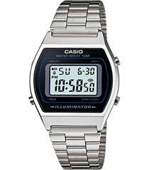 reloj casio color plateado  modelo clásico elegante