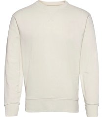 core temp terry sweatshirt sweat-shirt tröja creme banana republic