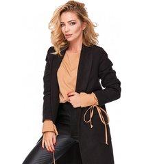 płaszcz black flausz