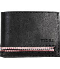 billetera de cuero reata