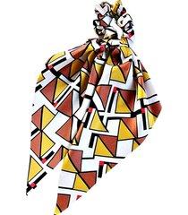 pañuelo colet mosaico amarillo viva felicia
