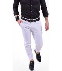 calça alfaiataria super slim masculina
